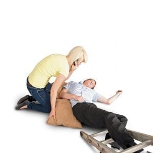 Man Fallen from Ladder