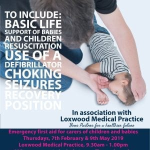Loxwood Medical Practice - Paediatric First Aid for Parents